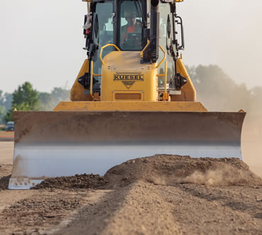 Grading Contractors | Kuesel Excavating Co.