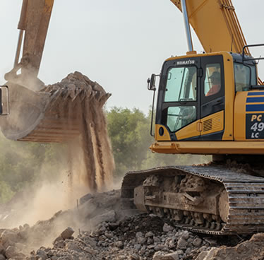 Excavation Services | Kuesel Excavating Co.