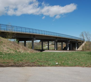 T.R. Hughes Railroad Overpass