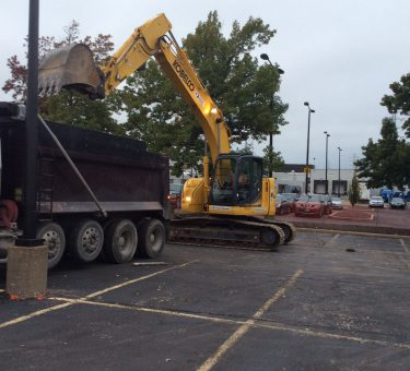 Ameren Pavement Removal